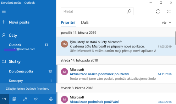 Outlook Express - Microsoft Windows Mail