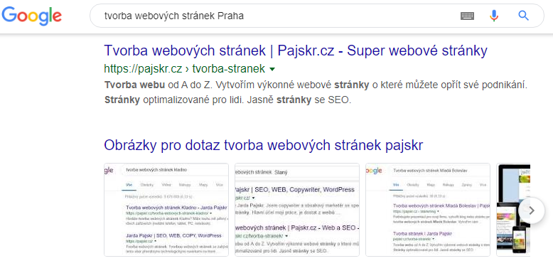 Tvorba webových stránek v Praze s administrací