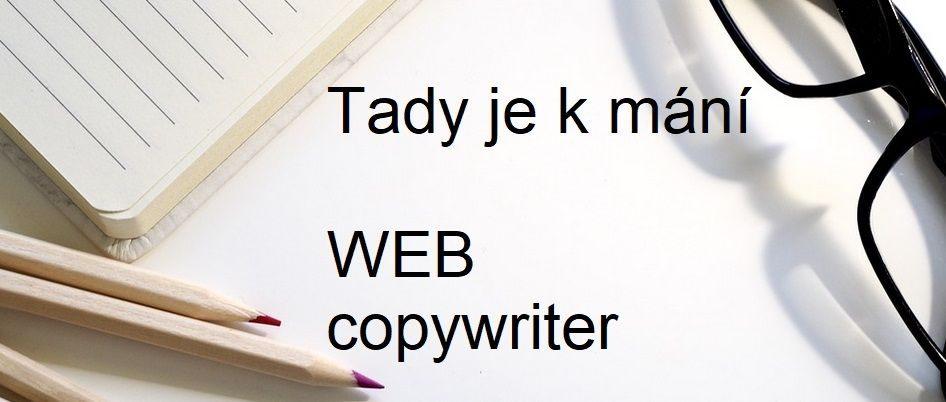Webový copywriter Jarda Pajskr